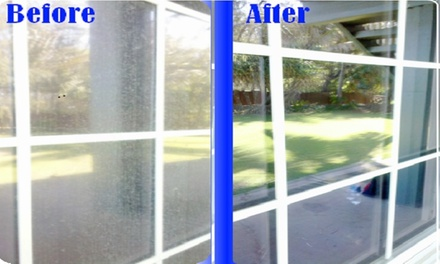 Up to 51% Off Window Cleaning by Windows at Re-Fresh Home Services