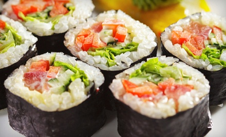 Asian-Fusion Cuisine at Singapore Grill (Up to 52% Off). Four Options Available.