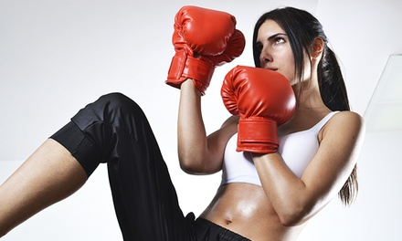 10 or 20 Kickboxing Classes at Kickboxing Hoboken (Up to 81% Off)