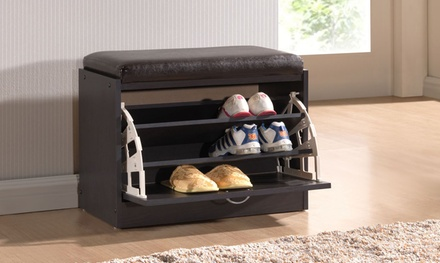 Bainbridge Shoe Rack with Seating Cushion