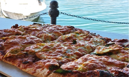 One or Two Artisan Pizzas at Lido Waterfront Bar and Bistro (Up to 45% Off)