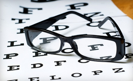 Prescription Eyewear with Optional Eye Exam at Erker&#x27;s Fine Eyewear (Up to 91% Off)