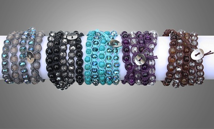 Genuine Gemstone Wrap Bracelets