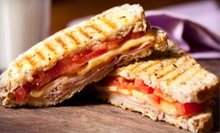 $10 for $20 Worth of Paninis, Wraps, Salads, and Coffee at Caf 33