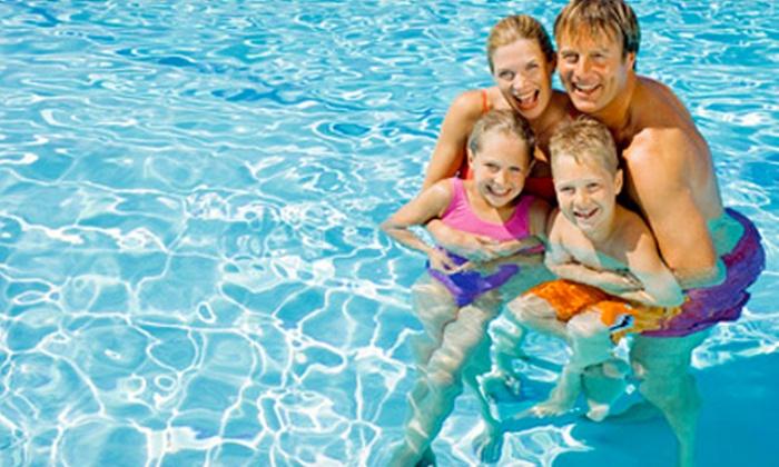 Fareham Leisure Centre - Fareham: Family Swim Pass Plus Refreshments from £12 at Fareham Leisure Centre (53% Off)