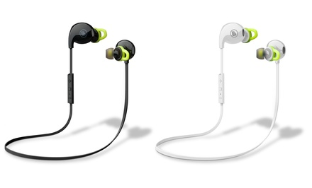 Urban Beatz Flux Sport Sweat-Proof Bluetooth Earbuds with Mic