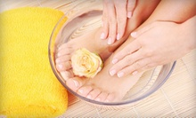 Mani-Pedi with Facial, Paraffin Wax, or Hot-Stone Massage at Sassy Nailz &amp; Tropical Sun Tan Spa (Up to 58% Off)