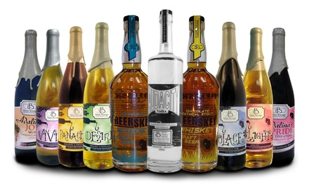 Wine and Spirit Tasting Package for Two or Four at Infinity Beverages Winery & Distillery ( 50% Off)