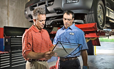 $39 for Wheel Alignment and State Safety Check at Capitol Auto Service ($84.65 Value)