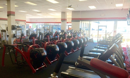Up to 79% Off Gym Membership with Tanning at Snap Fitness
