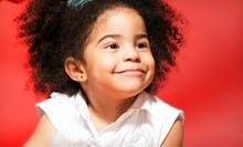 Three or Five Hairstyling Sessions for Girls at NYC YoungStar Salon (Up to 56% Off)