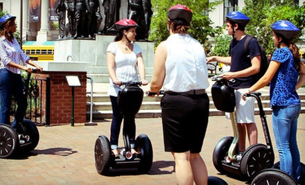 Segway Tour MondayFriday or SaturdaySunday from Wheel Fun Rentals (Up to 52% Off)