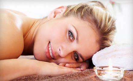 Aromatherapy Massage with European Facial or Microdermabrasion at Heavenly Soul (Up to 54% Off)