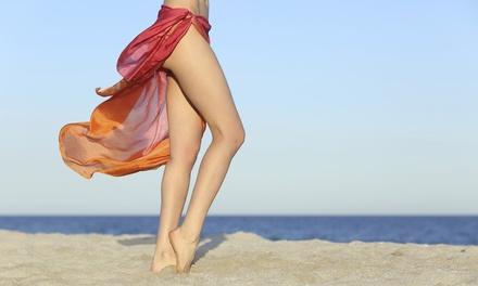 Six Laser Hair-Removal Sessions for One Small or Medium Area at Pure Radiance Day Spa (Up to 57% Off)