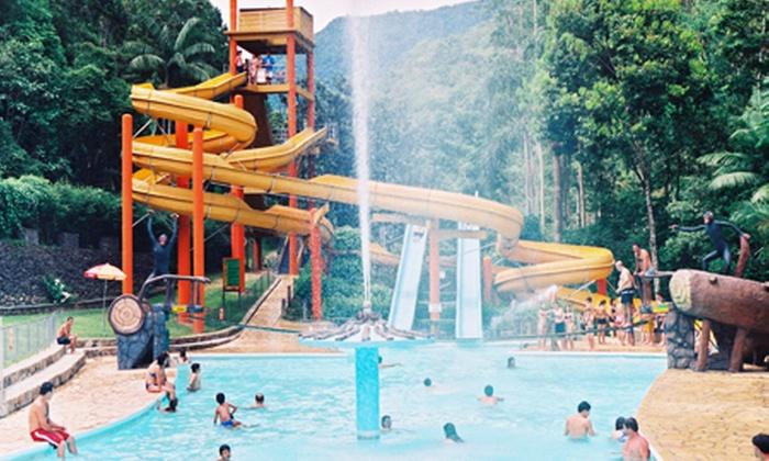 Cascata Carolina - GASPAR: Cascata Carolina – Gaspar: 1, 2 ou 4 entradas para o parque, a partir de R$ 19,90