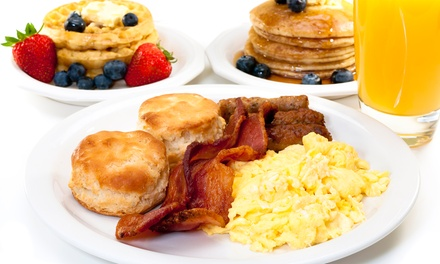 Benedicts, Breakfasts, and Burgers at Bam! Breakfast & Bistro (Up to 50% Off). Three Options Available.