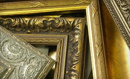 Custom Framing Services at Affordable Frame Design (Up to 56% Off). Two Options Available.