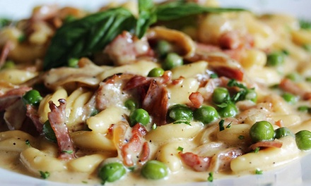 Regional Italian Meal for 2 or 4 or a Dinner-Party Package for 50 at Ornella Trattoria Italiana (Up to 42% Off)