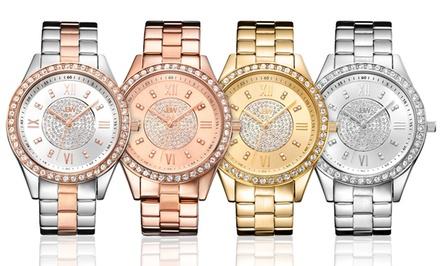 JBW Women's Mondrian Diamond and Swarovski Elements Watches