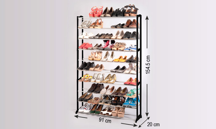 etagere chaussure groupon