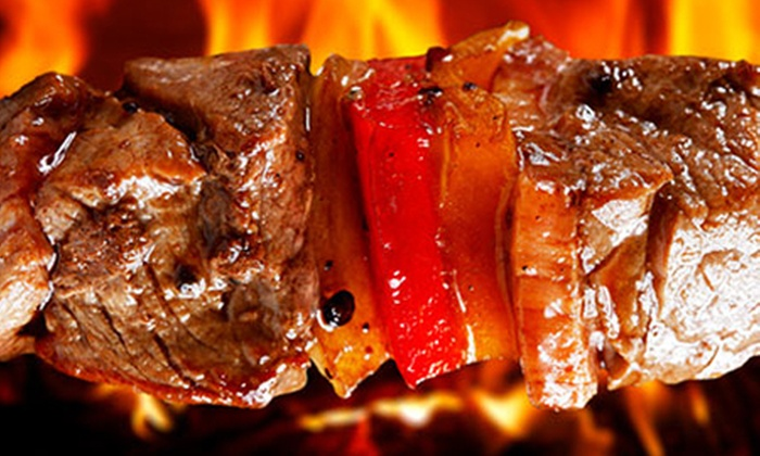 Leema's Lounge - Fortitude Valley: All-You-Can-Eat Brazilian BBQ with Dance Show for One ($29) or Two People ($57) at Leemas Lounge (Up to $138 Value)