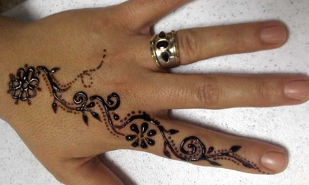 Up to 56% Off Henna Tatoos at Radhika's Day Spa