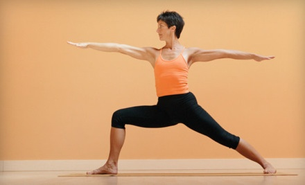 One or Three Months of Unlimited Yoga Classes at Better Days Yoga (Up to 71% Off)