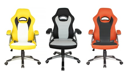 Racecar-Style Office Chair