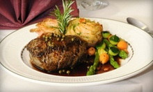$20 for $40 Worth of Fine French-Continental Cuisine at Whispering Pines Restaurant and Lounge