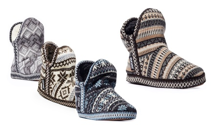 Muk Luks Amira Pattern Women's Slipper Booties