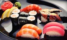 $25 for a Three-Course Sushi Meal for Two at Sansui Restaurant and Sushi Bar (Up to $50.35 Value)