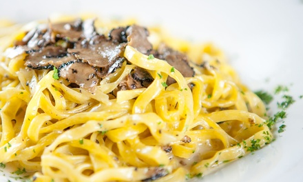 Italian Cuisine at La Macchina Cafe(Up to 47% Off). Three Options Available.