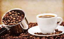 Coffee Gift Basket or $10 for $20 Worth of Gourmet Coffee and Sandwiches at Coffee Creations