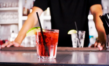 One-Week Introductory or Three-Hour Mixology 101 Bartending Course at Ace Bartending (Up to 63% Off)