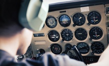 $139 for Discovery Flight Package with Photo, T-shirt, Syllabus, and Pilot Log at A&R Aviation ($284 Value)