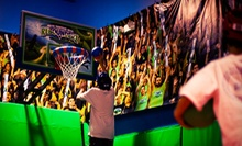 $28 for Four One-Hour Indoor-Trampoline Jump Sessions at Rebounderz Orlando ($56 Value)