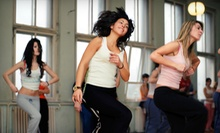 5 or 10 Zumba Classes at On The Move Fitness &amp; Wellness (Up to 53% Off)
