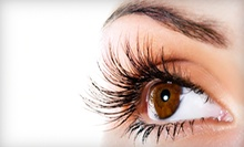 Partial Set of Lash Extensions, or a Special-Event Makeup Application at Blink Beautique Salon & Spa (Up to 55% Off)