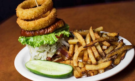 $15 for $25 Worth of Pub Food and Drinks at Lucky's American Bar & Grille (53% Off)