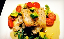 Three-Course French Fusion Dinner, Dessert, and Champagne for Two or Four at Bijou Restaurant & Bar (Up to 67% Off)