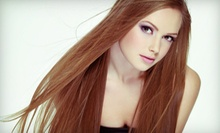 $99 for a Keratin Hair-Straightening Treatment at Gabanti Salon & Spa ($300 Value)