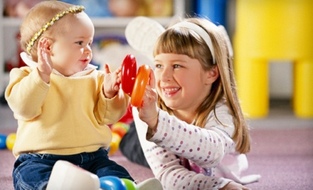One or Two Months of Membership with Initiation Fee at Gymboree Play &amp; Music (Up to 66% Off)