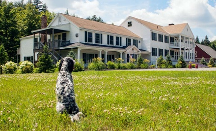 2-Night Stay for Two with Optional Dining Credit at Layla's Riverside Lodge in Dover, VT
