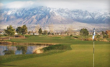 Nine-Hole Round for Two or Four with Cart Rental and Range Balls at Toad's National Golf Course (Up to 57% Off)