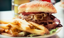 $15 for $30 Worth of Pub Food and Drinks at The Lodge Sports Grille