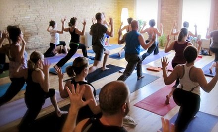 5 or 10 Detox or Kinetic Flow Classes or Five Yoga Sculpt Classes at Yoga Ward (Up to 68% Off)
