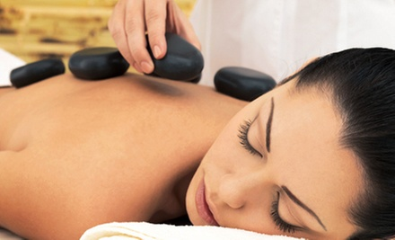 60- or 90-Minute Hot-Stone Massage for One or Two at Silver Sand Spa & Massage (Up to 57% Off)