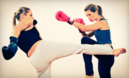5 or 10 Kickboxing Classes or One Month of Kickboxing Classes at Madama Brazilian Jiu-Jitsu Academy (Up to 80% Off)