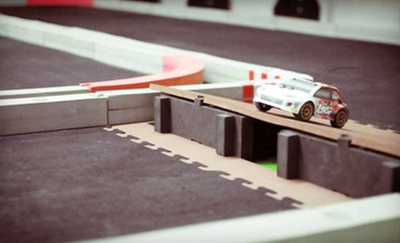 Slot-Car-Track Rental for Up to Eight or $15 for $30 Worth of Hobby Gear at Gallimods Hobby Shop & Raceway