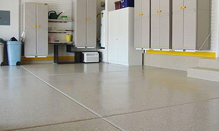Flooring for a Two- or Three-Car Garage from Color Surface (Up to 54% Off)